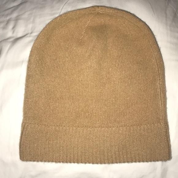 Uniqlo Tan Cashmere knit beanie. M 5a98ad66a44dbe9dcbb03b49 1ca45e439b08